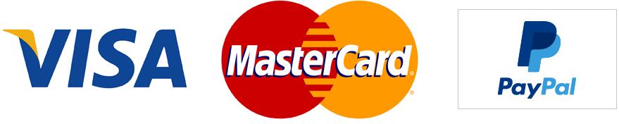 Добросфера принимает карты VISA, MC и оплату через PayPal