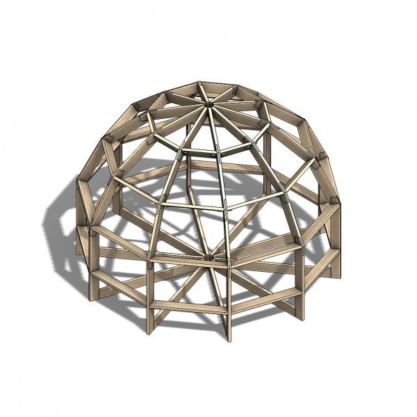 Купольные каркасы   Каталог купольных домов Добросфера